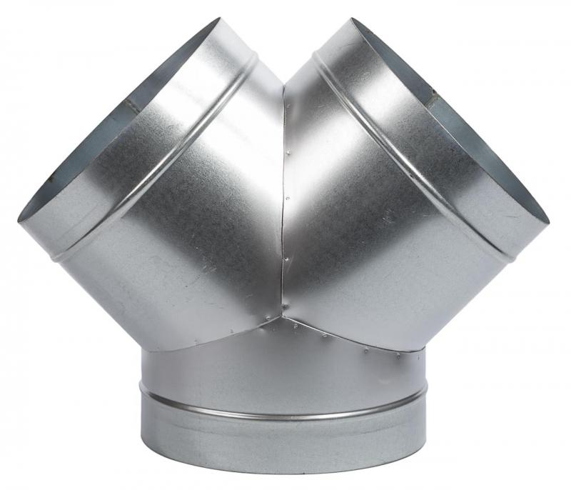 Y-Stück ø 3x 125 mm