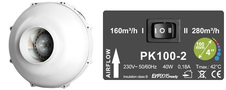 PK100-2 (Two-speed)