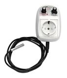 GSE AC Steckdosen Klima-Regler, Temperatur und Minimalgeschwindigkeit 1-Fan 5 A