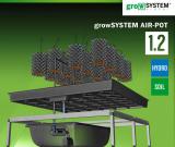 growSYSTEM airpot 1.2, 120 x 120 cm