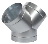 Y-Stück ø 1x 200 mm, 2x (125, 160 oder 200)