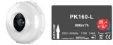 PrimaKlima - PK160-L 800 m³/h