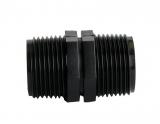 PE-Verbindungsnippel 3/4 Zoll AG auf 3/4 Zoll AG