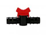 Absperrhahn für 16 mm Gewebeschlauch